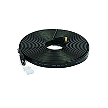 New Flat HDMI Cable - 20 Meter - Black