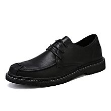 7b647a83fcd7 Men  039 s Shoes Fashion Casual Formal Shoes Leather Business Shoes Black  Size 38