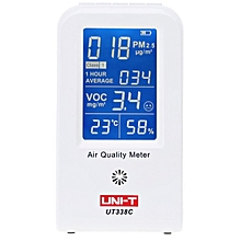 UNI-T UT338C 7 in 1 VOC Formaldehyde Detector PM2.5 Air Quality Monitoring Tester
