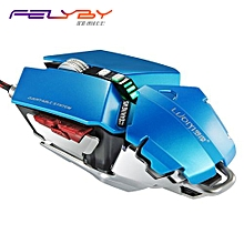 G50 Professional Mechanical Gaming Mouse 4000 DPI 10 Buttons Adjustable Length Optical Wired Mice Support Programming