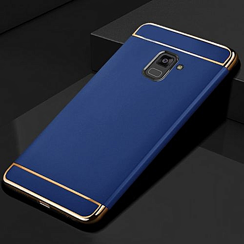 Generic For Samsung Galaxy A8 2018 Case Matte Fundas 3in1 Hard Back Cover Creative Housing For Samsung A8 2018 Phone Cases