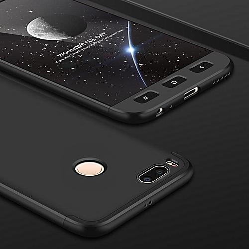 brand new fa9df 67ef4 Mi5x Phone Cases For Xiaomi Mi A1 Rugged 360 Degree Full Protection Case  Hard PC 3 In 1 Fundas Coque Back Cover For Xiaomi Mi 5X (Black)