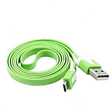 1.9M USB Charging Cable Android - Green