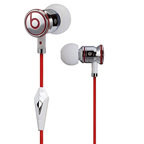 10f413b14e1 beats Monster Beats by Dr Dre iBeats 3.5mm Wired Headset In Ear Stereo  Music Headphones Smart Phone Earphone Hands-free with Microphone