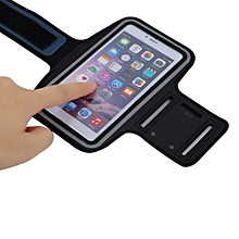 Premium Running Jogging Sports GYM Armband Case Cover Holder for iPhone 6 Plus black