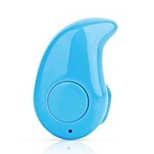Mini Wireless Bluetooth 3.0 Stereo In-Ear Headset Earphone Earpiece Universal Blue