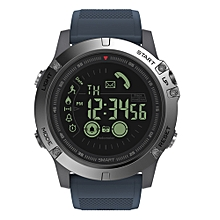 BT4.0 Sports Smart Watch 5ATM Water-Proof Smart Wrist Band Pedometer Alarm Stopwatch Remote Camera Reminders Compatible IOS & Android