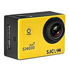 SJ4000 WiFi 1080P 1.5 inch LCD Action Camera Sport DV US Plug - Yellow