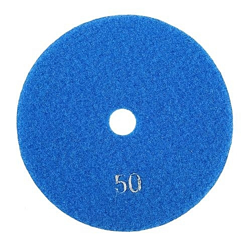 5'' Inch 125mm Wet Diamond Polishing Pads Grinding Discs For Granite  Concrete Marble