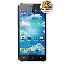 """V10 - 5.0"""" - 8GB - 5MP - Dual SIM - White + Free Flip Cover - Black"""