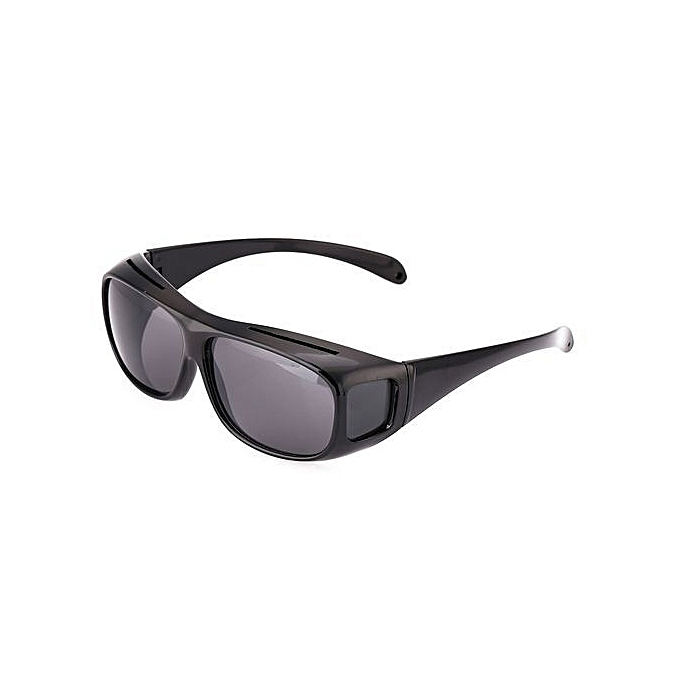 ce84f87f3e8 Generic HD Night Vision Driving Glasses - Black   Best Price