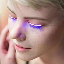 Lashes Interactive LED Eyelashes good for party bar Halloween