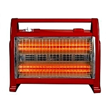 Halogen Room Quartz Heater With Two Heat Settings 800Watts/1600Watts