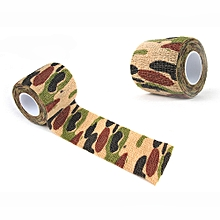 Koaisd 4.5M Camouflage Tape Bandage For Bicycle Flashlight Camping Hunting Wrap