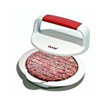 Hamburger Maker/ Press - White