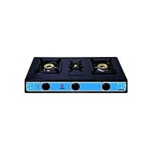 MGS1300 - Gas Stove, 3 Burner - Black