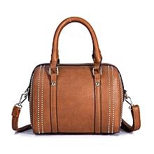 Women Leather Classic Leisure  Handbag Crossbody Bag