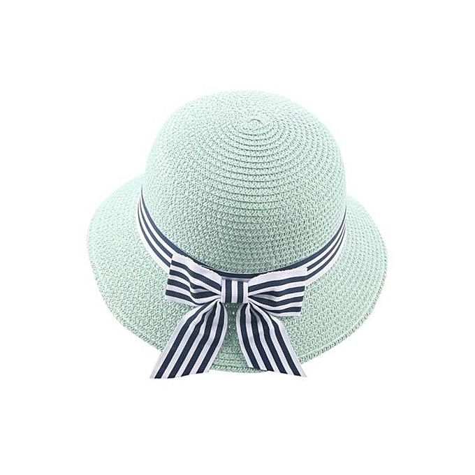 Braveayong Summer Baby Hat Cap Children Breathable Hat Straw Hat Kids Hat  Boy Girls Hats - adb7e02f981