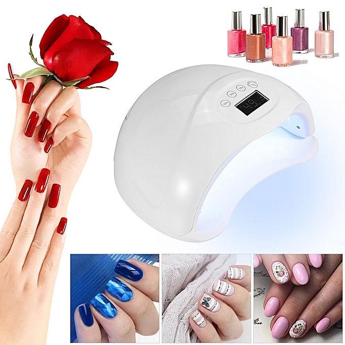 Buy Neworldline SUN5Plus Nail Lamp UV LED Nail Polish Dryer Light ...