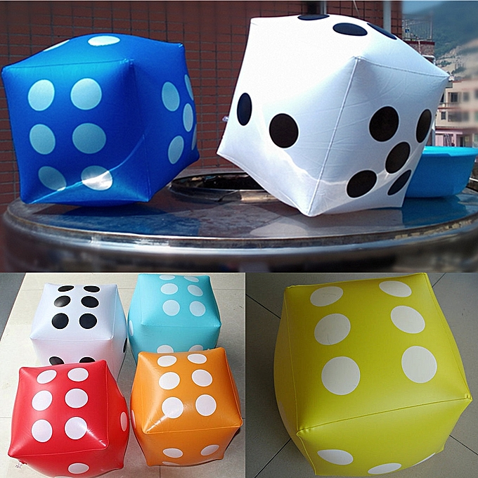 30 30cm Giant Inflatable Air Number Dice Outdoor Beach Toy Party Garden