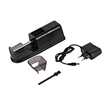 Electric Cigarette Rolling Machine Automatic Injector DIY Maker EU Plug-Black
