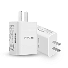 Earldom Multi-port USB Charging Adapter For Apple IPhone Samsung Mobile Phone Tablet Universal Charger(White)
