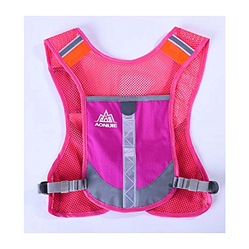 d8dcbf9a3c Generic Lightweight Women Men Running Backpack Trail Racing Marathon Hiking  Fitness Bag Hydration Vest Pack Outdoor Sport Cycling Backpack - rose