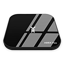 A95X PLUS S905YII 4K HD TV Box 4GB / 32GB Smart Media Player for Android 8.1-BLACK