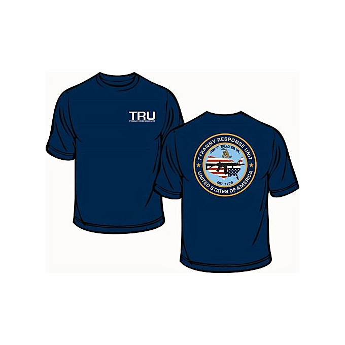 Fashion Tyranny Response Unit T Shirt Pro 2nd Amendment Anti Gun