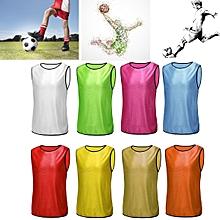 Football Training Bibs Team Vests Soccer Basketball Sports Jerseys Adult Clothes Orange