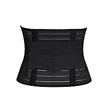 Slimming Tummy Trimming Belt for all sizes - Black
