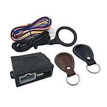 OR Car Engine Push Start Stop Button RFID Lock Ignition Keyless Entry System-Black