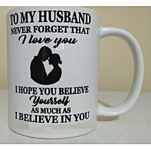 Gift mug for a husband - ideal for Christmas gifting