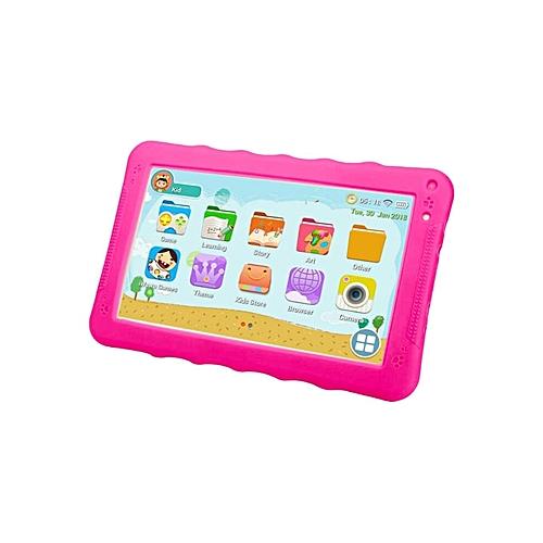 K93 HI Kid Tablet-9 Inch -8GB-512MB RAM - Wifi -Quad Core  -Pink