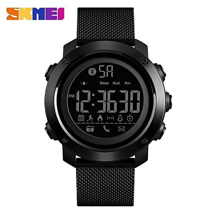 a610c6f4e2265e Bluetooth Smart Watch Men Fashion Sport Watch Pedometer Remote Camera  Calorie LED Digital Watches For Men