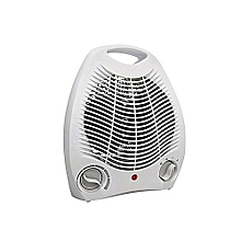 Room Fan Heater- White