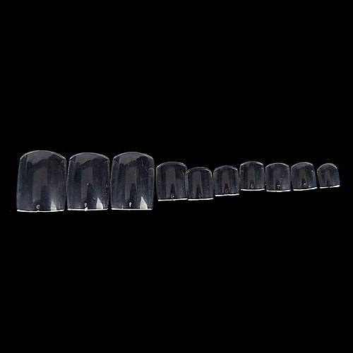 Buy Generic 500pcs Acrylic False Fake Artificial Toe Nails Tips For