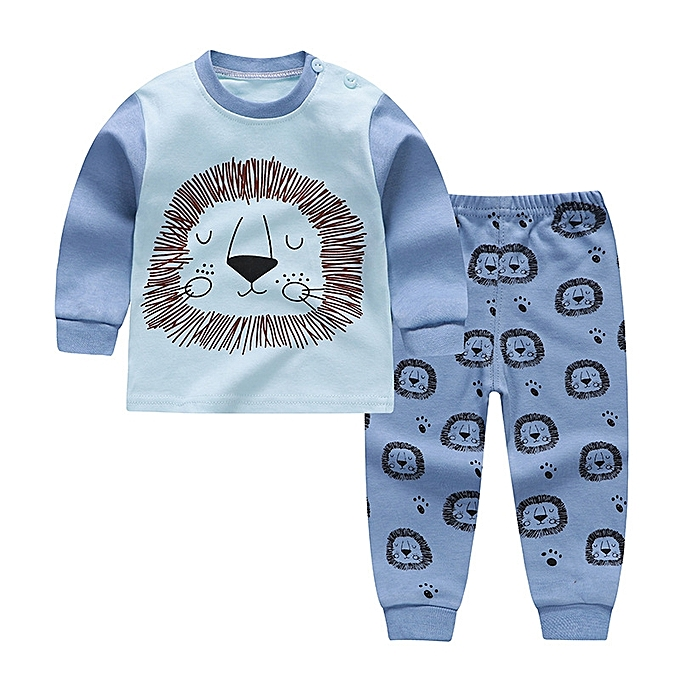 427e5cf61 Generic Baby Boy's Clothing Set Tops+Pants (Blue) @ Best Price ...