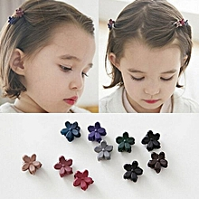 Baby Kid Children Girls Flower Hair Pin Clips Hairpin(Color:Random)