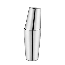 S75-9 600ML Stainless Steel Cocktail Shaker Set Boston Style Mixer for Gift