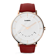 Lenovo Watch S Smartwatch 5ATM Waterproof Rate Sports Modes Sleep Monitoring - RED