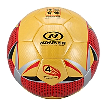 Outdoor Trainning Soccer Ball Game PU Official Size 4 Anti-slip Football Ball