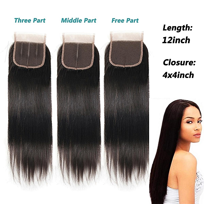 Buy Generic 12 Straight Easy Loop Remy Brazilian Real Human Hair