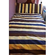 4PC Cotton Duvet Set - 6x6 - Multicoloured