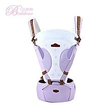 Unisex Breathable Waist Stool Backpack - Purple