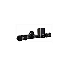 300W DVD HOMETHEATRE SYSTEM, 5.1CH, 1080P UPSCALING, DH3140S - Black