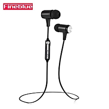 Fineblue Wireless Bluetooth Headset Magnet Earphone Stereo Earpieces for Huawei Mate9s
