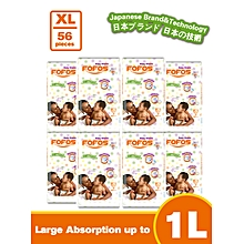 XTRA LARGE - Size 5 (15 kgs and above) - 7 Diapers (COUNT 56)