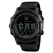 Sports Casual Men Smart Watch Intelligent Male Watches 5ATM Water-resistant Call APP Reminder Remote Camera Sports Tracker BT Smart Bracelet