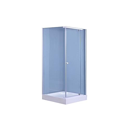Astounding Shower Enclosure Square 900 X 900 X 2000Mm White Home Interior And Landscaping Eliaenasavecom